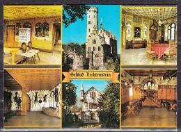 Schloss Lichtenstein, 6 Ansichten (42790) - Deutschland