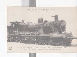 CPA-TRANSPORTS-TRAINS-LOCOMOTIVE-FRANCAISES-P.O -MACHINE N° 4004- POUR TRAINS EXPRESS LOURDS - Eisenbahnen