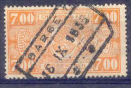 F871 -België  Spoorweg Chemin De Fer  Met Stempel BARSE - 1942-1951