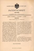 Original Patentschrift - A. Stiemert In Coschen / Neißemünde , 1895 , Federhalter , Füllfederhalter , Faber , Pelikan ! - Schrijfgerief