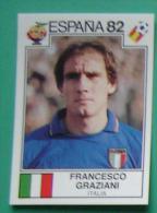 FRANCESCO GRAZIANI ITALY SPAIN 1982 #142 PANINI FIFA WORLD CUP STORY STICKER SOCCER FUSSBALL FOOTBALL - Panini