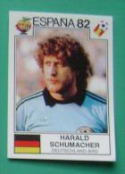 HARALD SCHUMACHER GERMANY SPAIN 1982 #144 PANINI FIFA WORLD CUP STORY STICKER SOCCER FUSSBALL FOOTBALL - Panini
