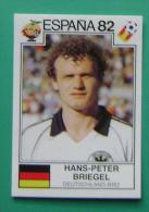 HANS PETER BRIEGEL GERMANY SPAIN 1982 #146 PANINI FIFA WORLD CUP STORY STICKER SOCCER FUSSBALL FOOTBALL - Panini