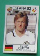 BERND FORSTER GERMANY SPAIN 1982 #148 PANINI FIFA WORLD CUP STORY STICKER SOCCER FUSSBALL FOOTBALL - Panini