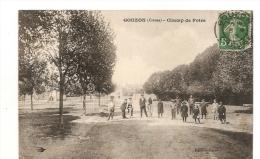 23 GOUZON CHAMP DE FOIRE  ANIMEE   2 SCANS - France