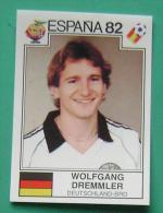 WOLFGANG DREMMLER GERMANY SPAIN 1982 #149 PANINI FIFA WORLD CUP STORY STICKER SOCCER FUSSBALL FOOTBALL - Panini