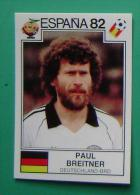 PAUL BREITNER GERMANY SPAIN 1982 #151 PANINI FIFA WORLD CUP STORY STICKER SOCCER FUSSBALL FOOTBALL - Panini