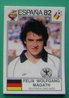 FELIX WOLFGANG MAGATH GERMANY SPAIN 1982 #153 PANINI FIFA WORLD CUP STORY STICKER SOCCER FUSSBALL FOOTBALL - Panini