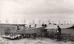 AVIATION PHOTO.14X9 CMS.MONOPLAN SOMMER QU ILLUSTRA BATHIAT DANS PLUSIEURS RECORDS DE VITESSE   .SAFARA .TEXTE AU DOS - ....-1914: Précurseurs