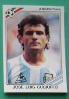 JOSE LUIS CUCIUFFO ARGENTINA MEXICO 1986 #162 PANINI FIFA WORLD CUP STORY STICKER SOCCER FUSSBALL FOOTBALL - Panini