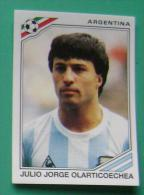 JULIO JORGE OLARTICOECHEA ARGENTINA MEXICO 1986 #168 PANINI FIFA WORLD CUP STORY STICKER SOCCER FUSSBALL FOOTBALL - Panini