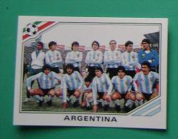 TEAM ARGENTINA MEXICO 1986 #169 PANINI FIFA WORLD CUP STORY STICKER SOCCER FUSSBALL FOOTBALL - Panini