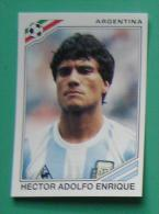HECTOR ADOLFO ENRIQUE ARGENTINA MEXICO 1986 #174 PANINI FIFA WORLD CUP STORY STICKER SOCCER FUSSBALL FOOTBALL - Panini