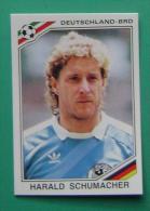 HARALD SCHUMACHER GERMANY MEXICO 1986 #178 PANINI FIFA WORLD CUP STORY STICKER SOCCER FUSSBALL FOOTBALL - Panini