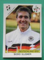 BODO ILLGNER GERMANY ITALY 1990 #195 PANINI FIFA WORLD CUP STORY STICKER SOCCER FUSSBALL FOOTBALL - Engelse Uitgave