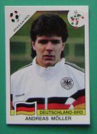 ANDREAS MOLLER GERMANY ITALY 1990 #202 PANINI FIFA WORLD CUP STORY STICKER SOCCER FUSSBALL FOOTBALL - Panini