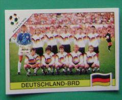 TEAM WEST GERMANY ITALY 1990 #203 PANINI FIFA WORLD CUP STORY STICKER SOCCER FUSSBALL FOOTBALL - Panini