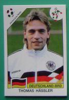 THOMAS HASSLER GERMANY ITALY 1990 #207 PANINI FIFA WORLD CUP STORY STICKER SOCCER FUSSBALL FOOTBALL - Panini