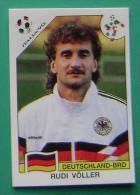 RUDI VOLLER GERMANY ITALY 1990 #209 PANINI FIFA WORLD CUP STORY STICKER SOCCER FUSSBALL FOOTBALL - Panini