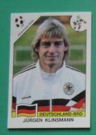 JURGEN KLINSMANN GERMANY ITALY 1990 #210 PANINI FIFA WORLD CUP STORY STICKER SOCCER FUSSBALL FOOTBALL - Engelse Uitgave