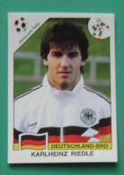 KARLHEINZ RIEDLE GERMANY ITALY 1990 #211 PANINI FIFA WORLD CUP STORY STICKER SOCCER FUSSBALL FOOTBALL - Panini