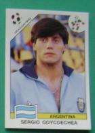 SERGIO GOYCOECHEA ARGENTINA ITALY 1990 #212 PANINI FIFA WORLD CUP STORY STICKER SOCCER FUSSBALL FOOTBALL - Engelse Uitgave