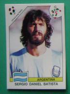 SERGIO DANIEL BATISTA ARGENTINA ITALY 1990 #219 PANINI FIFA WORLD CUP STORY STICKER SOCCER FUSSBALL FOOTBALL - Engelse Uitgave