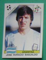 JOSE HORACIO BASUALDO ARGENTINA ITALY 1990 #222 PANINI FIFA WORLD CUP STORY STICKER SOCCER FUSSBALL FOOTBALL - Panini