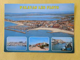 Dep 34 , Cpm  PALAVAS Les FLOTS  , Multivues , 19.1440 (165)Recto/Verso - Palavas Les Flots