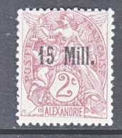 ALEXANDRIA  40   * - Alexandria (1899-1931)