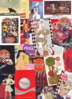 Lot 54 Dos Différent De Jeu De Cartes COCA-COLA (Speelkaarten, Playing Cards, Carte à Jouer) - Playing Cards (classic)