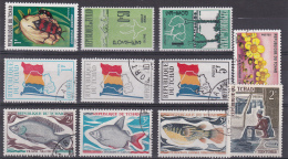 TCHAD : Lot De 20 Timbres - Tchad (1960-...)