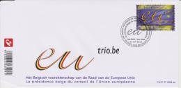 België - Belgium - Belgique FDC 1694 Ter European Union - Union Européenne - 2010 - Mi 4094 - FDC