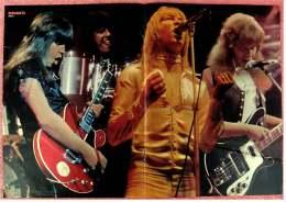 Kleines Musik Poster  -  Band Sweet  -  Von Bravo Ca. 1982 - Plakate & Poster