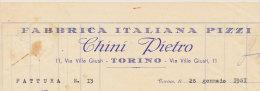 TORINO FABBRICA ITALIANA PIZZI DI CHINI PIETRO 1951 - Italy