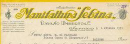 SARNICO (BERGAMO) MANIFATTURA SEBINA DI RAVASIO UMBERTO & CO 1951 - Italy