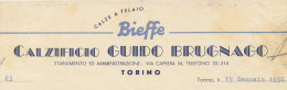 TORINO CALZIFICIO BIEFFE DI GUIDO BRUGNAGO CALZE A TELAIO 1951 - Italy