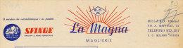 MILANO MAGLIERIE LA MAGNA PRODOTTI SFINGE 1956 - Italy