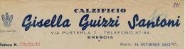 BRESCIA CALZIFICIO GISELLA GUIZZI SANTONI 1951 - Italy