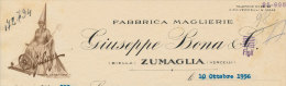 BIELLA ZUMAGLIA VERCELLI FABBRICA MAGLIERIE GIUSEPPE BONA & C. 1956 - Italy