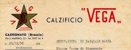 CASTEGNATO (BRESCIA) CALZIFICIO VEGA 1956 - Italy