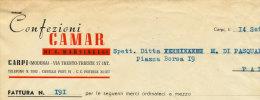 CARPI (MODENA) CONFEZIONI CAMAR DI E. MARTINELLI 1951 - Italy