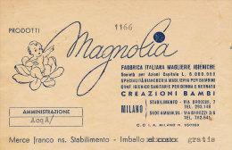 MILANO MAGNOLIA FABBRICA ITALIANA MAGLIERIE IGIENICHE 1951 - Italy