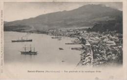 MARTINIQUE ( Saint Pierre Vue Generale Et La Montagne Pele ) - Martinique