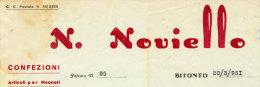 BITONTO N. NOVIELLO CONFEZIONI E ARTICOLI PER NEONATO 1951 - Italia
