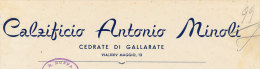 GALLARATE CALZIFICIO ANTONIO MINOLI 1956 - Italy