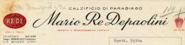 PARABIAGO CALZIFICIO MARIO RE DEPAOLINI 1956 - Italy