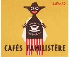Buvard Café Cafés Familistère Noir Homme - Buvards, Protège-cahiers Illustrés