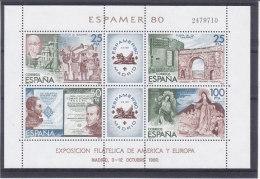 Espagne - Yvert Bloc 27 ** - MNH - Exposition Philatélique - Espamer 80 - Blocs & Hojas