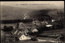 Cp Wasselonne Bas Rhin Frankreich, Vue D'ensemble D'un Faubourg De La Ville - France